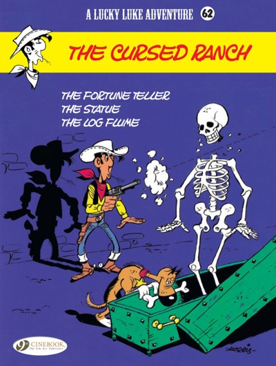 Lucky Luke v62 The Cursed Ranch cover