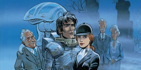 Valerian and Laureline v11: Ghosts of Interloch cover detail