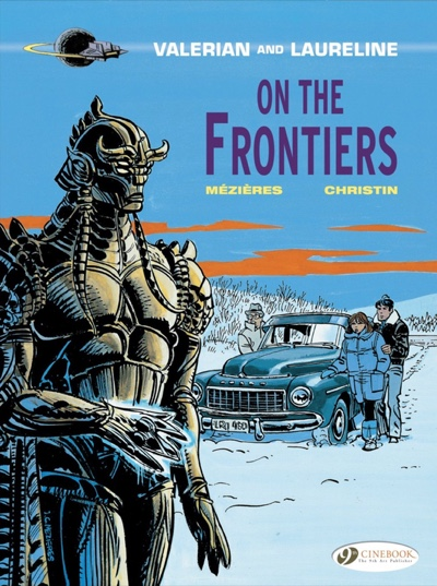 Valerian and Laureline v13 On the Frontiers cover image