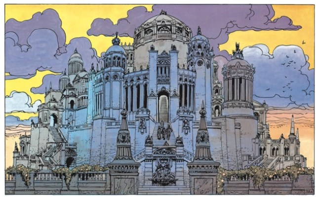 The Architecture of Valerian and Laureline by Jean-Claude Mezieres