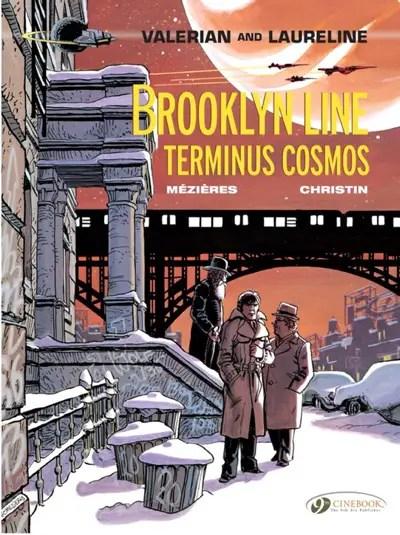 Valerian v10: Brooklyn Line Terminus Cosmos cover