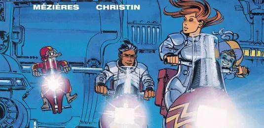 """Valerian v17 """"Orphan of the Stars"""" cover detail"""