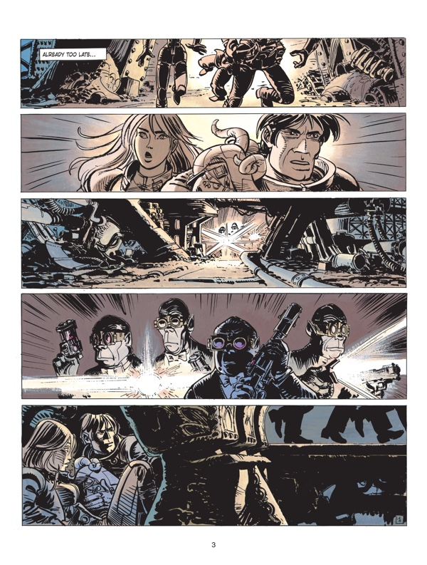 Valerian v17 Page One by Jean-Claude Mezieres