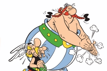 Asterix Coming Soon to Italy cover