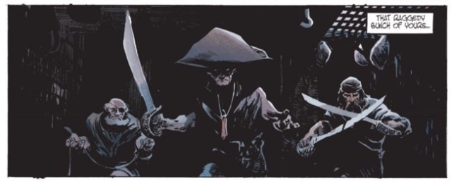 Matthieu Lauffray can draw some cool classic pirates, too!