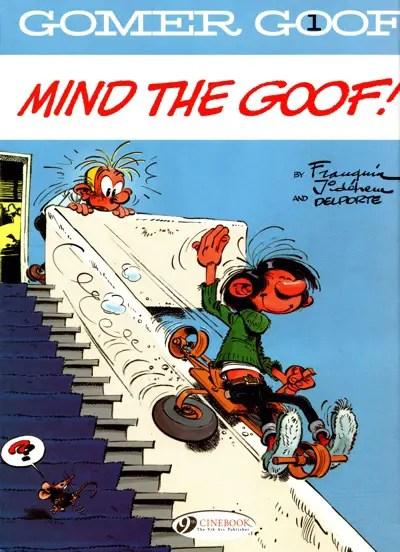 Gomer Goof v1 cover by Franquin