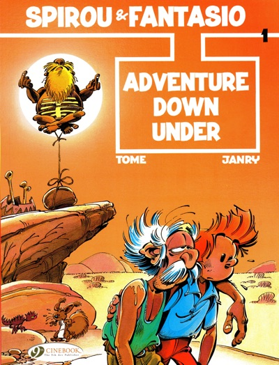 Spirou and Fantasia Adventure Down Under by Tome and Janry cover