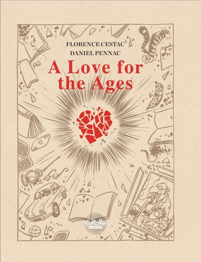 A Love for All Ages cover by Florence Cestac