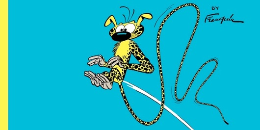 Spirou and Fantasio v5 The Marsupilami Thieves from Cinebook Header