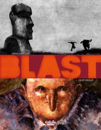 Blast v1 cover by Manu Larcenet