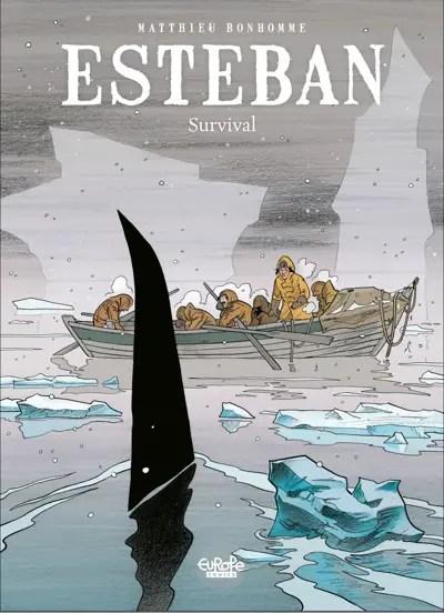 Esteban v3 cover by Matthieu Bonhomme via Dupuis and Europe Comics
