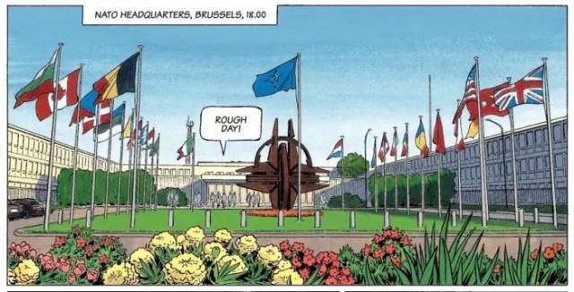NATO Headquarters in Belgium