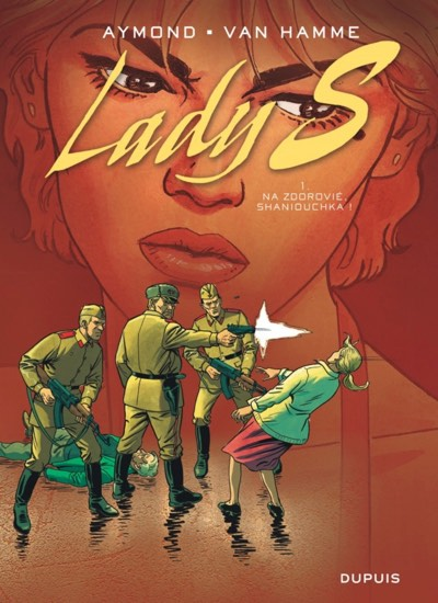 Lady S original French cover for volume 1 by Philippe Aymond