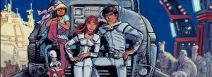 Valerian and Laureline v19 At the Edge of the Great Void cover detail