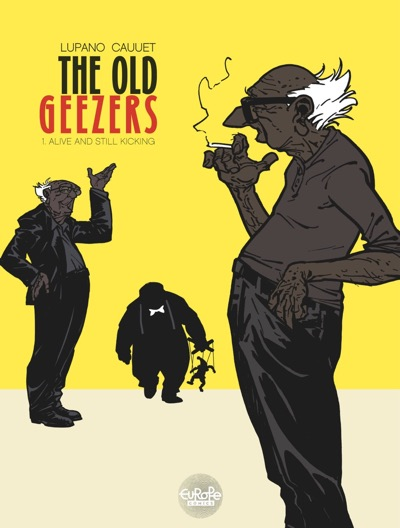 The Old Geezers v1 cover
