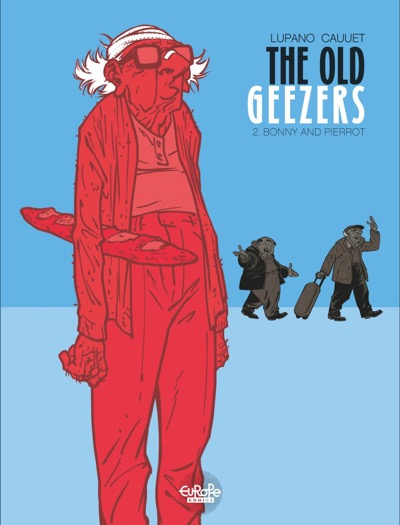 The Old Geezers v2 cover by Paul Cauuet