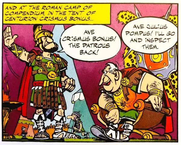 The Roman Centurion, Crismus Bonus