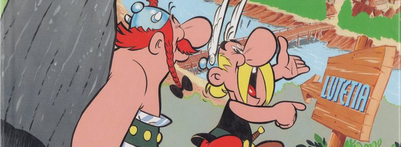 Asterix v2 Asterix and the Golden Sickle cover detail