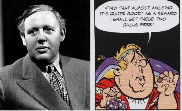 Asterix's Roman prefect is based on actor Charlie Haughton