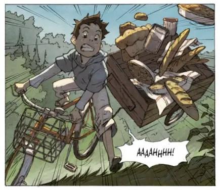Milo's World has manga-like art. Look, there's speedlines!