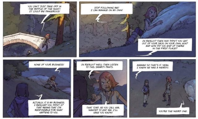 Milo and Valya are introduced, and things start a little strained