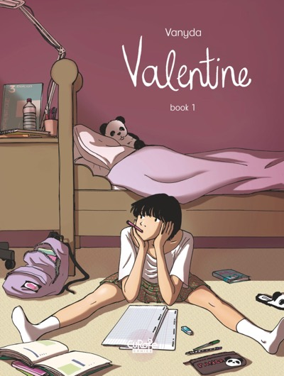 Valentine v1 by Vanyda cover