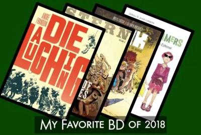 My favorite BD of 2018 Top 10 list