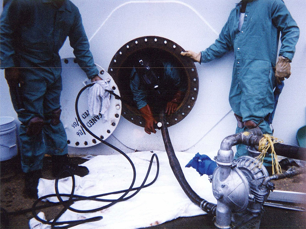 Tank Cleaning  Pipeline Petroleum Services Inc