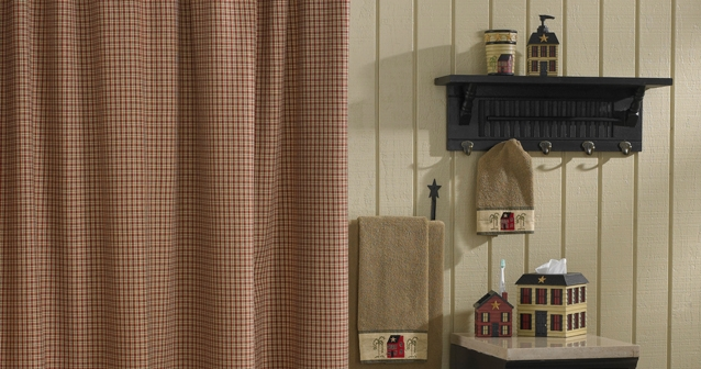 country shower curtains piper classics