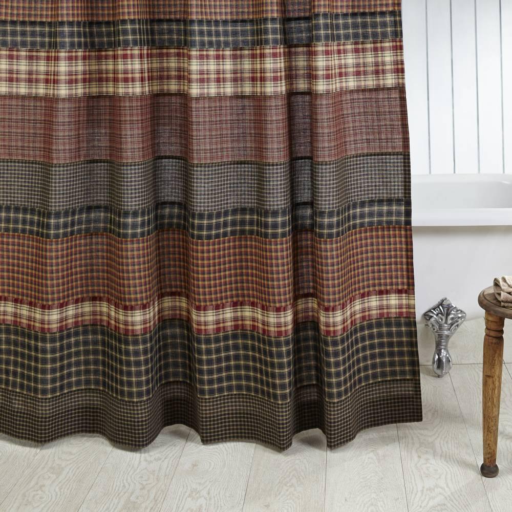 beckham shower curtain