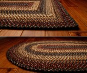 Country Style Braided Rugs