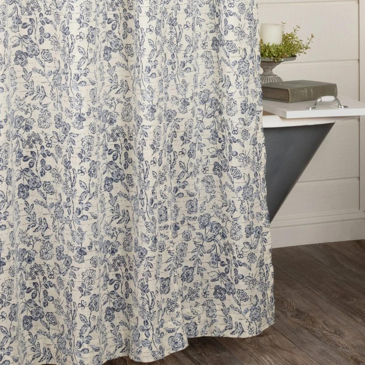 doylestown floral shower curtain