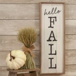 Hello Fall Wooden Sign Piper Classics