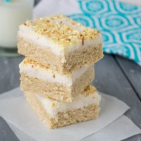 Coconut Sugar Cookie Bar
