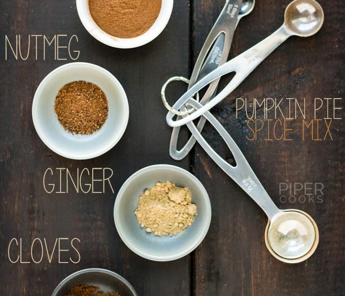 DIY Pumpkin Pie Spice Mix