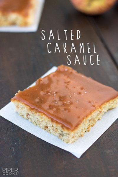 Salted Caramel Sauce Pipercooks.com