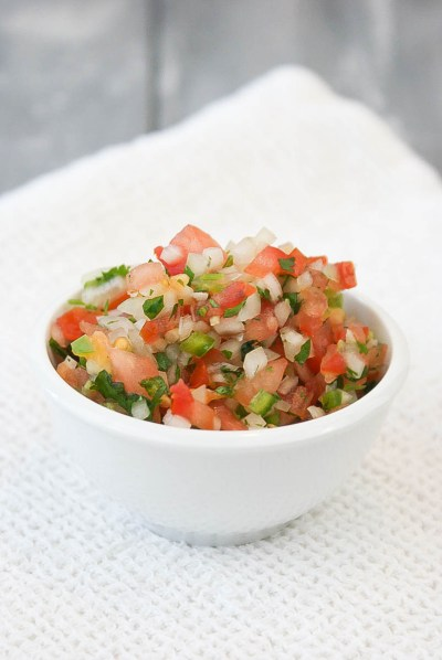 Pico De Gallo & Salsa Verde PiperCooks.com