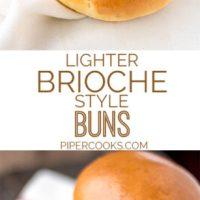 Quick & Light Brioche Style Buns