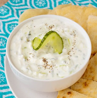 Greek Tzatziki Sauce recipe from Pipercooks.com
