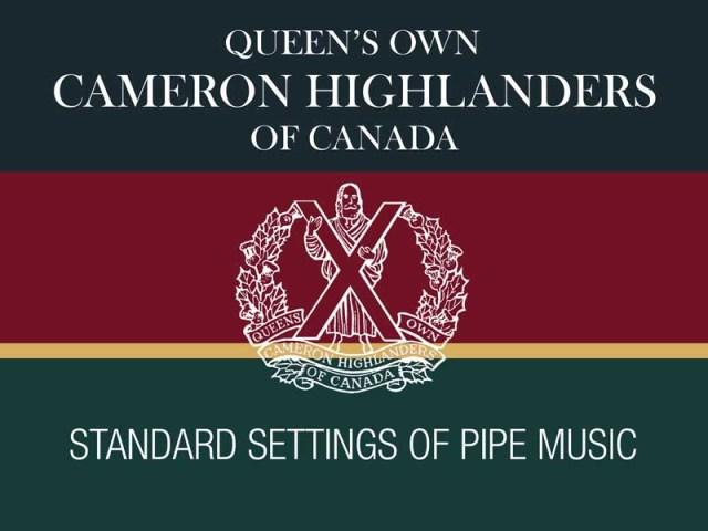 Hal Senyk reviews Queen's Own Cameron Highlanders of Canada collection