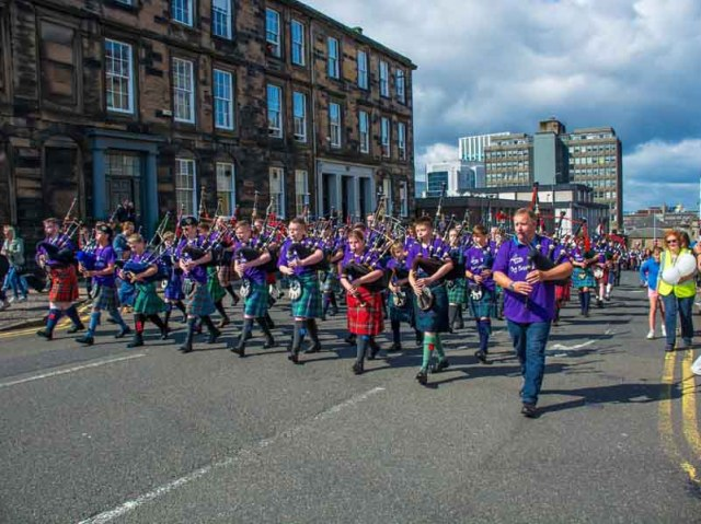 Piping Live! 2019 – Day 1: we're only happy when it rains