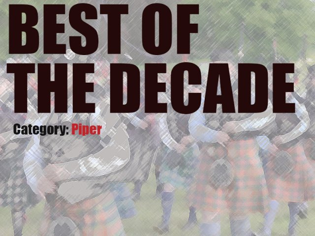 pipes|drums Best of the Decade Awards – Piper
