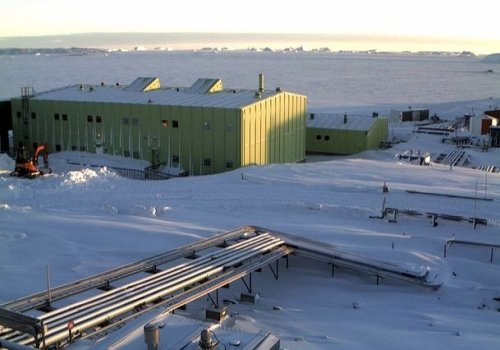 Lokring fittings selected for Antarctic fuel lines