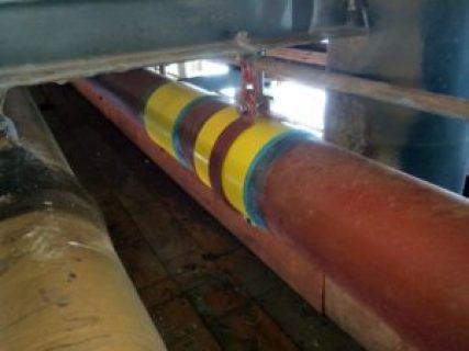 Clock Spring Pipeline composite repair sleeve