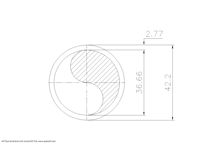 Schedule 10 Pipe 1 1/4 Inch DN32