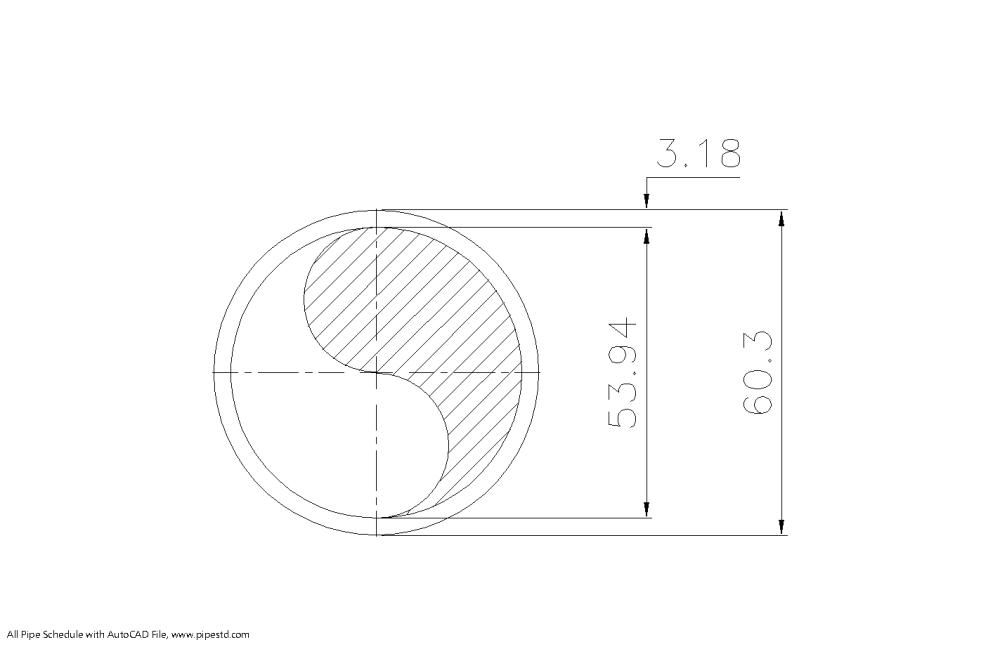 medium resolution of schedule 30 pipe 2 inch dn50 mm