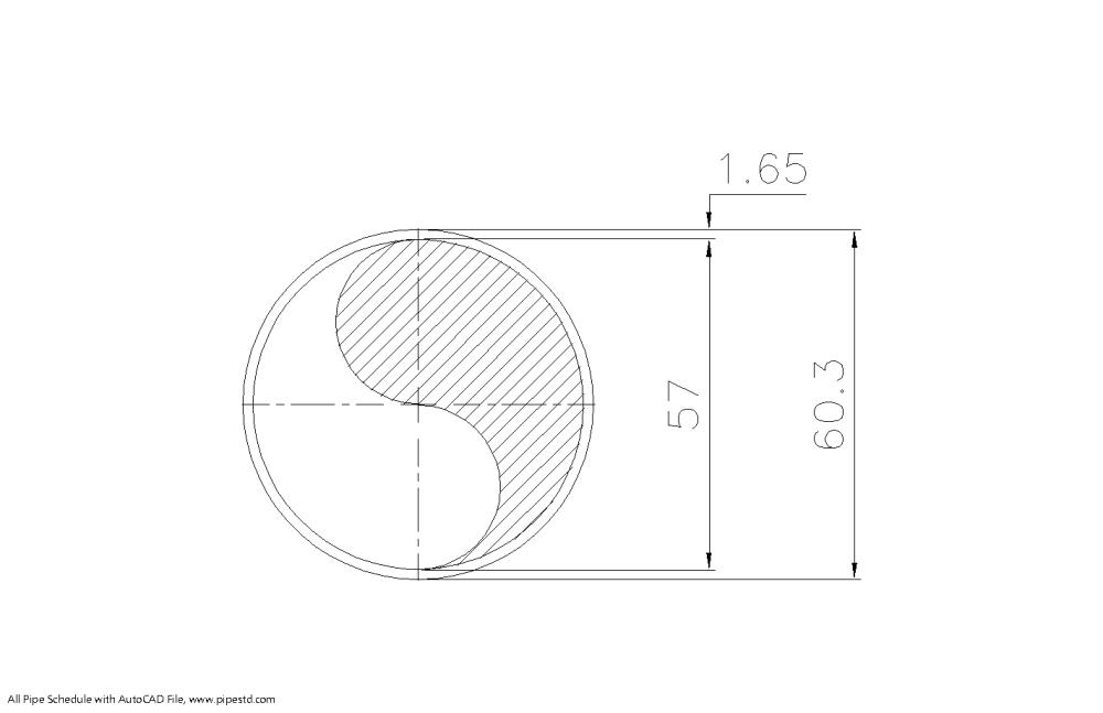 medium resolution of schedule 5s pipe 2 inch dn50