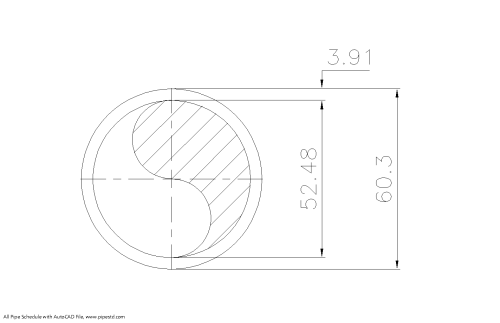 small resolution of schedule std pipe 2 inch dn50
