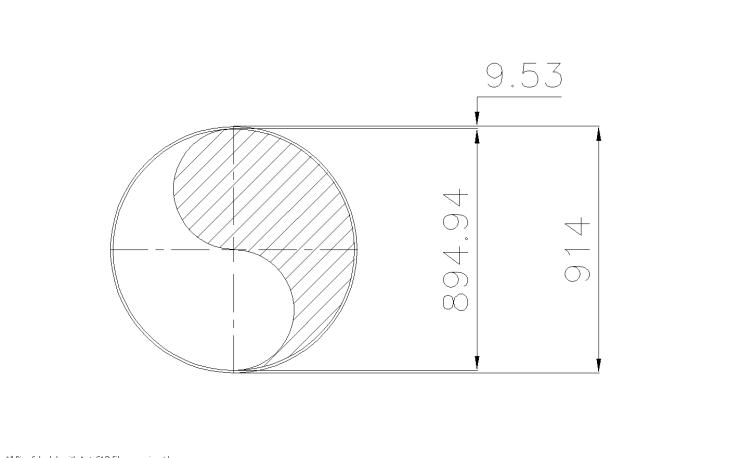 Schedule STD Pipe 36 Inch DN900