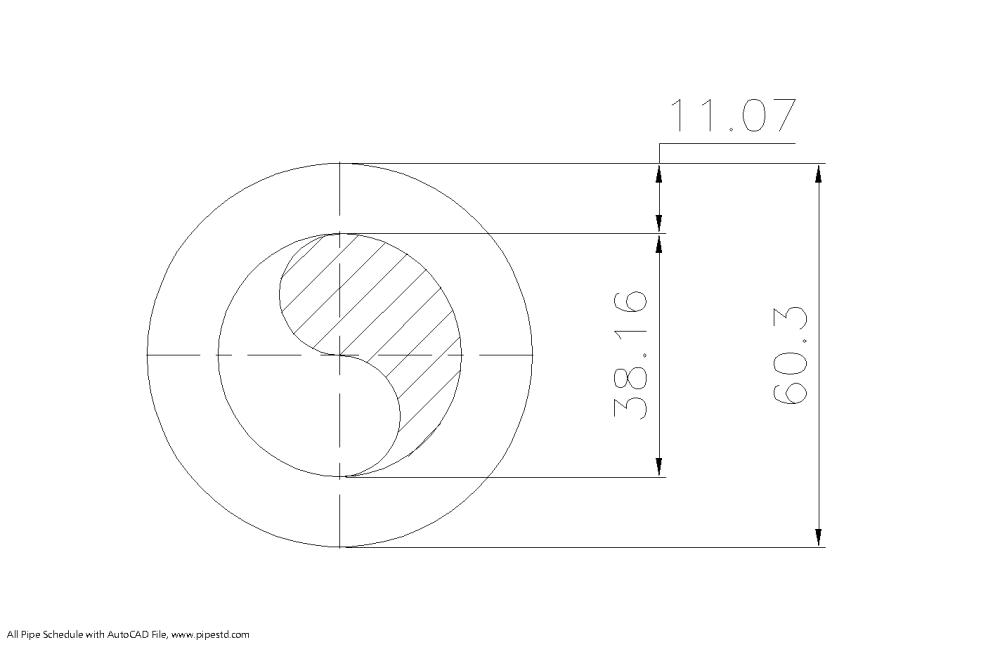 medium resolution of schedule xxs pipe 2 inch dn50